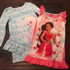2 pc bundle! Disney Nightgowns size 4